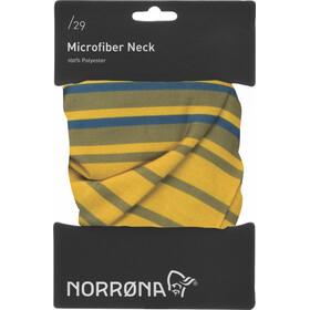 Norrøna /29 Microfiber Halsbeklædning gul/oliven